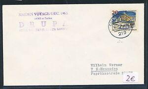 86682) Schiffspost Allemagne Grande-bretagne Gb/uk Cuxhaven 1965-n Gb / Uk Cuxhaven 1965fr-fr Afficher Le Titre D'origine