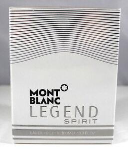 Legend-SPIRIT-By-Mont-Blanc-3-3-Oz-Eau-De-Toilette-Spray-For-Men-Sealed-New