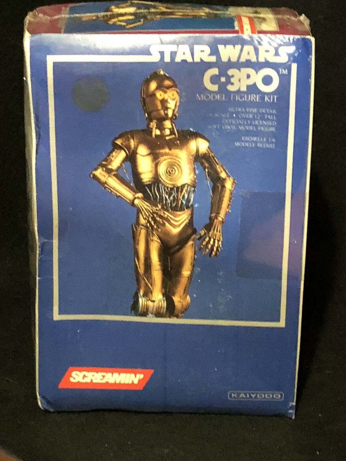 Screamin' Star Wars C-3PO Model Figure Set New in Box