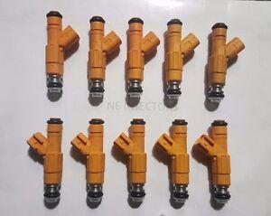 Remanufactured Bosch Fuel Injector 0280155857 Set Ford 6.8L V10 Motor Man 10