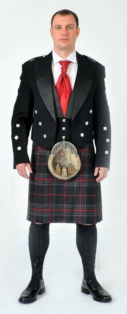 Spirit of Bruce Made to Measure 8 Yard 16oz Wool Kilt with Free Flashes