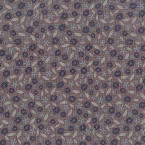 Lynette Anderson Daisy Fields Smoke 100 /% Cotton Fabric Patchwork Quilting