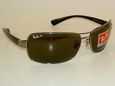 5e050d97d4 item 1 New RAY BAN Sunglasses Gunmetal Frame RB 3379 004 58 Polarized Lenses  -New RAY BAN Sunglasses Gunmetal Frame RB 3379 004 58 Polarized Lenses