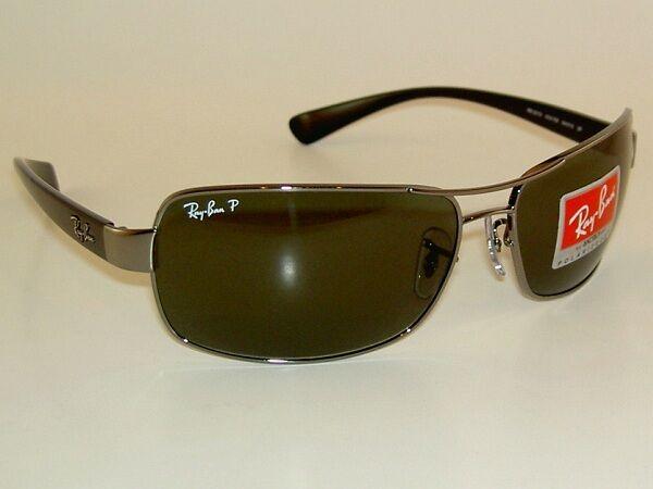 Ray Ban 3379 Gunmetal Frame Glass Polarized Lenses Italy Aviator   eBay c80990066500