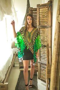 Kaftans-Embellished-Cruise-Wear-Abstract-Prints-Designer-Viscose-Soft-Silk-MK621