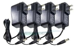12V-DC-500-mA-CCTV-SECURITY-Camera-Power-Supply-Transformer-Adapter-Pack-of-4