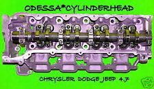 CHRYSLER DODGE JEEP CHEROKEE DAKOTA 4.7 SOHC CYLINDER HEAD DRIVER SIDE NO EGR