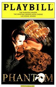 NEW-CLOSING-NIGHT-Collectible-The-Phantom-of-the-Opera-Las-Vegas-Playbill-Progrm