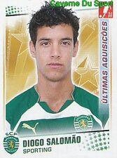 382 DIOGO SALOMAO SPORTING.CP PORTUGAL UPDATE STICKER FUTEBOL 2011 PANINI