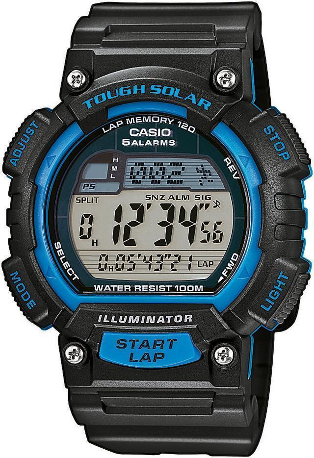 539eca09af1 Casio Original New STL-S100H-2A Tough Solar Power Digital Watch STL-S100  Blue