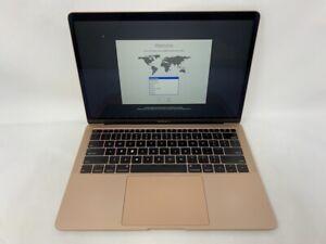 MacBook Air 13 Gold 2018 MRE82LL/A 1.6GHz i5 8GB 128GB SSD - Broken Key