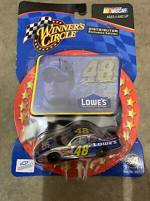 Jimmie Johnson #48 Lowe/'s 1//64 WC//Action 2002 ROOKIE Monte Carlo w//Sticker