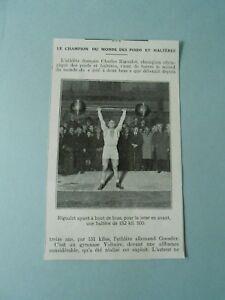 Champion-du-Monde-des-Poids-et-Halteres-Charles-Rigoulot-1924-Image-Print