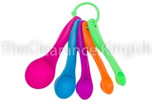 5-Pcs-Colorful-Plastic-Measuring-Spoons-Set-Kitchen-Utensil-Cooking-Baking-Tool