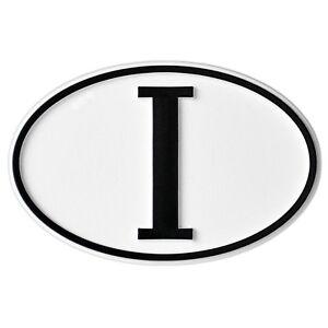 Auto-Italien-I-Aufkleber-Relief-Emblem-I-Schild-80-mm-HR-RICHTER-Art-15781
