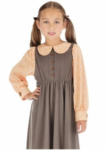 Victorian School Girl Childrens Costume Book Week Fancy Dress