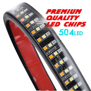 60-034-Flexible-Light-Bar-Rear-Reverse-Turn-Signal-DRL-For-Ford-F-150-F250-Pickup