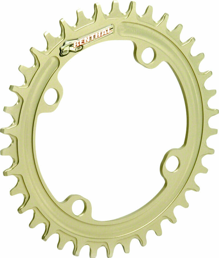 Renthal 1XR Chainring 32T 104mm BCD Gold 1x 9-12sp Narrow-wide Tooth Design