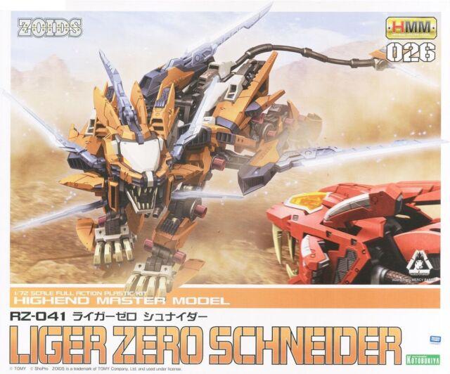 Zoids EZ-041 Liger Zero Schneider Marking plus ver 1//72 model kit Kotobukiya