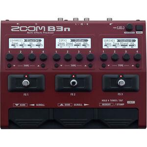 New-Zoom-B3n-Bass-Multi-effects-Processor-Auth-Dealer-Warranty-Best-Offer