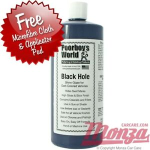 Poorboys Black Hole LARGE Ml Show Car Glaze Wax Polish - Show car cleaning products