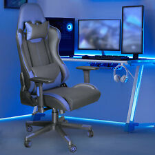 Computer Gaming Chair Ergonomic High Back Racing Swivel Leather Office Chair