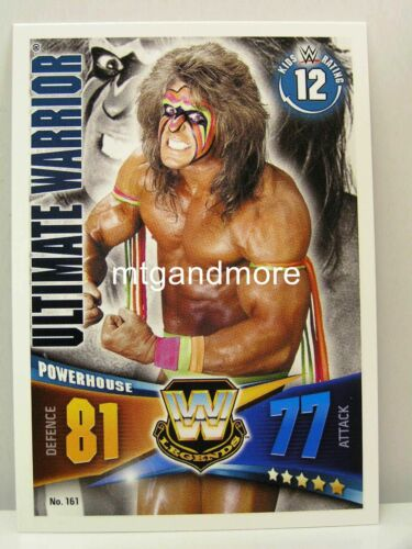 #161 Ultimate Warrior Slam Attax Rivals