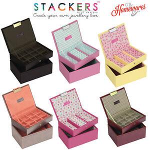 Image is loading Stackers-Jewellery-Box-Mini-Size-Set-of-2- 0e7a3fa81e