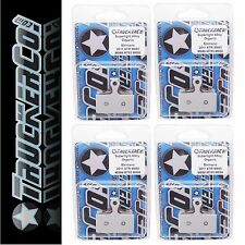 x4 TruckerCo Alloy Disc Brake Pads Shimano XT BR M785 SLX M666 m9000 AL 13