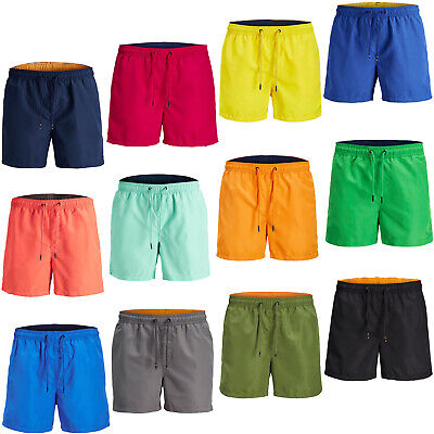 Das Beste Jack & Jones Swim Shorts Mens Quick Dry Drawstring Elasticated Trunks Swimwear 2019 New Fashion Style Online