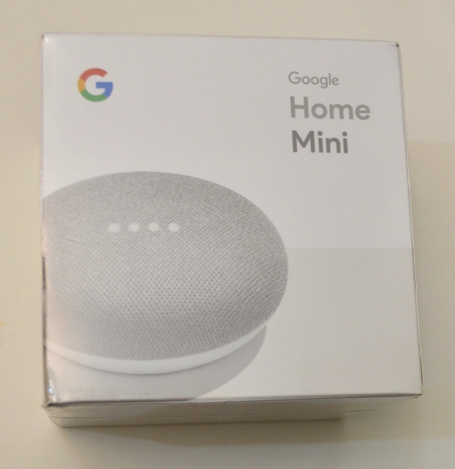 Google Home Mini Smart Assistant - Chalk BRAND NEW