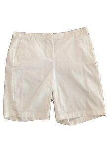 J-Crew-Womens-Size-8-White-Bermuda-Shorts-10-Stretch-City-Fit-Chino-50