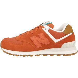 New-balance-WL-574-sea-Women-zapatos-Pink-Clay-Powder-cortos-wl574sea-rosa-blanco