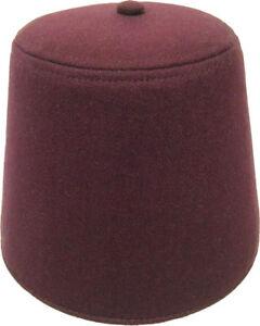 marrone Ga17lg Costumes pesante turco Morris Fez rossiccio grande con lana 16698656665 cappello di fuori Tassle vgOxwZqO