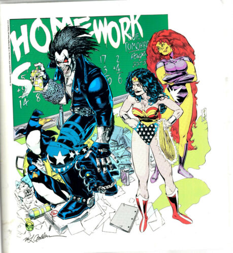 DC Back To School Binder KIt 1992 3-Ring Binder Still in Shrinkwrap B