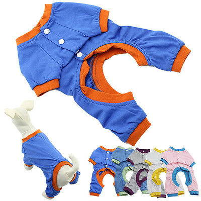 Dog Pajamas Pet Clothes Clothing Puppy Coat Cat Jumpsuit Pet Supplies Products