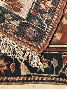 ANTIQUE-TURKISH-ANATOLIAN-RUG-POPPIES-FLOWERS-TREE-ESTATE-NATURAL-VEG-DYES