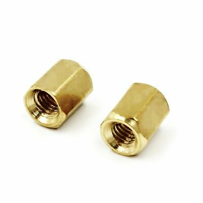 50 pcs New M3 6mm Copper Cylinder Hollow Copper Column S2