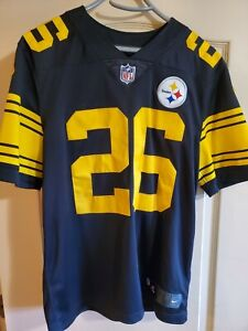 #26 Le'Veon Bell Nike Limited Vapor Untouchable Color Rush Steelers Jersey
