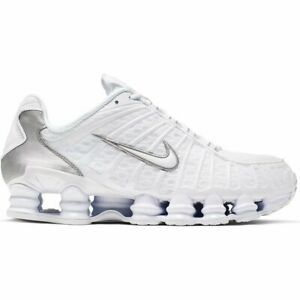 Préstamo de dinero Frase experimental  Nike Shox Tl Zapatillas Blanco Hombre | eBay