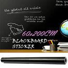 200x60CM Blackboard Sticker Removable Vinyl Wall Chalkboard Decal Chalk Board