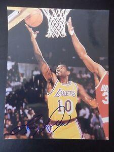 """Larry Drew Autographed 8"""" X 10"""" Photograph"""