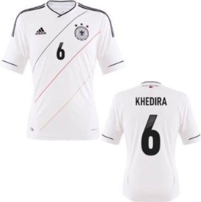 Trikot Adidas DFB 2012-2014 Home - Khedira  Deutschland. Fußball EM WM    Ausgewählte Materialien