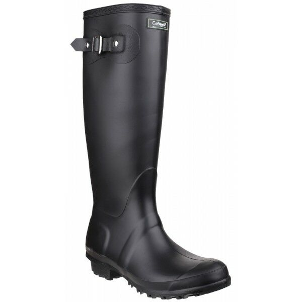 Cotswold SANDRINGHAM Women Ladies Tall Waterproof Wellies Wellington Boots Black