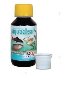 Aquarium Fish Tank Eau Limpide Clarté Traitement Tropicaux Coldwater - 100 Ml-afficher Le Titre D'origine Dessins Attrayants;