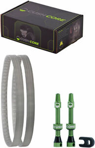 """CushCore Tire Inserts Set 29+/"""" x 2.6~3.0/"""" Pair Includes 2 Tubeless Valves"""