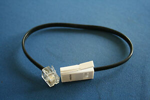 1M Short Telephone Cable for Geemarc phones BT Plug to RJ11 Free first class - Hertfordshire, United Kingdom - 1M Short Telephone Cable for Geemarc phones BT Plug to RJ11 Free first class - Hertfordshire, United Kingdom
