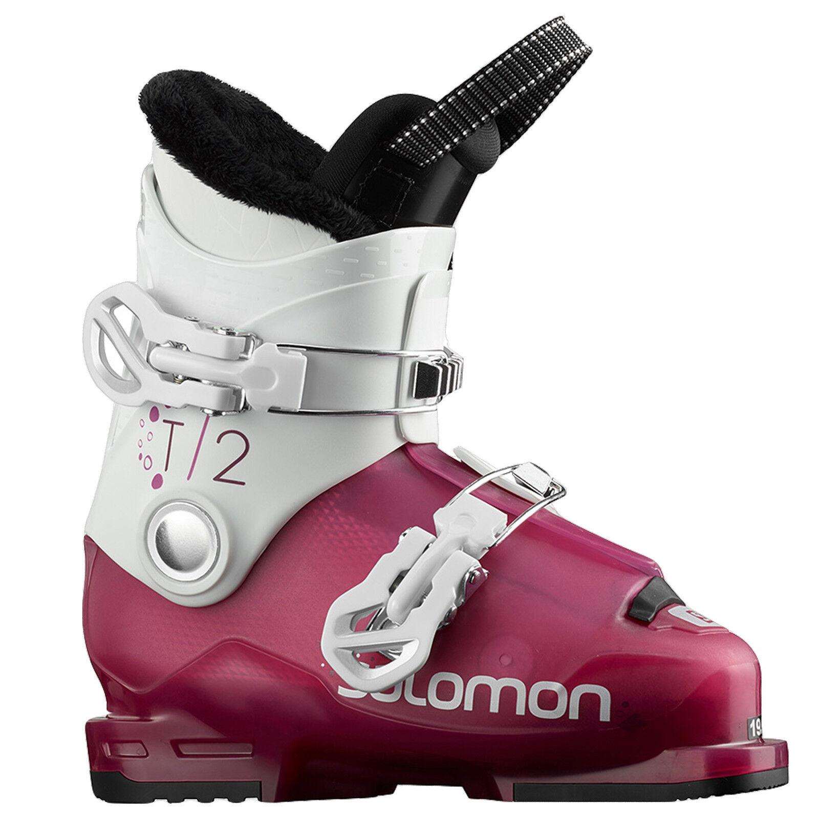 2019 Enfants Ski Bottes Chaussures Bateau Salomon Salomon Salomon T2 Rt Girly ~ Taille Mp 18 = 95db99