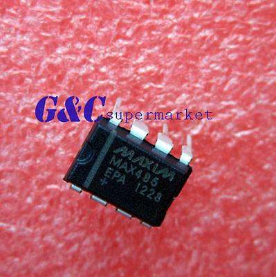100PCS MAX485 MAX485CSA IC TXRX RS485//RS422 LOWPWR SOP-8 NEW DATE CODE:12+