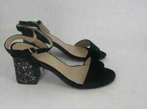 0d181b422 Matalan Fiore Glitter Block Heel Sandals UK 5 EU 38 JS181 YY 02 | eBay